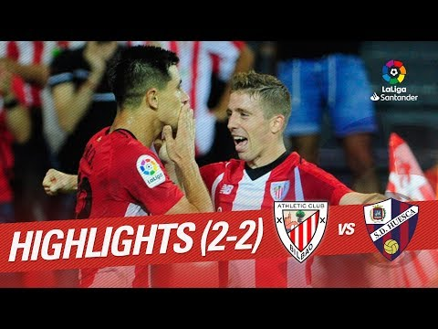 Resumen de Athletic Club vs SD Huesca  (2-2)