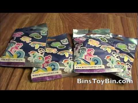 WONDER BOLTS MLP Blind Bags Opening! My Little Pony FiM Review by Bin's Toy Bin
