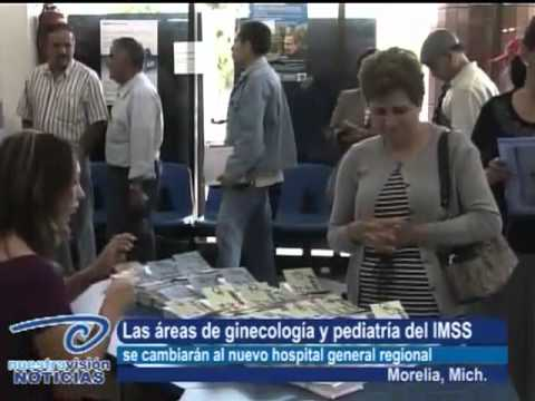 Reubicarán áreas de Ginecología y Pediatría. Al nuevo hospital general regional del IMSS thumbnail