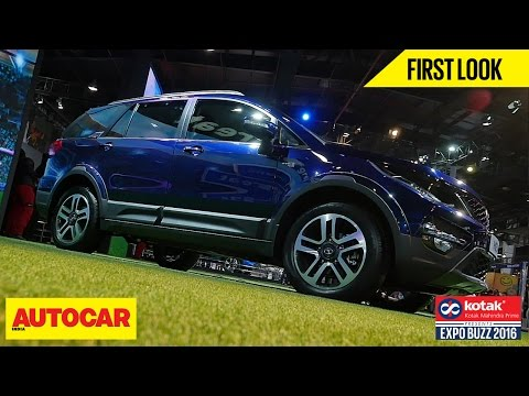 Tata Hexa | First Look | Autocar India | Presented By Kotak Mahindra Prime