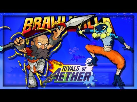 I CAN'T BELIEVE THEY DID IT!! BRAWLHALLA & RIVALS OF AETHER CROSSOVER - Brawlhalla - Ranno Skin