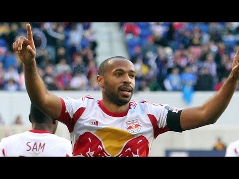 GOAL: Thierry Henry buries his shot into the corner | New York Red Bulls vs NE Revolution