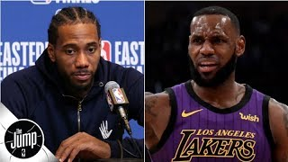 The Lakers missing out on Kawhi could waste another LeBron James year - Rachel Nichols | The Jump