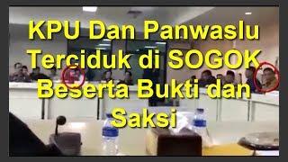 KPK Tutup Mulut melihat KPU dan Panwaslu Ketahuan di SOGOK Pilkada dan Pilpres