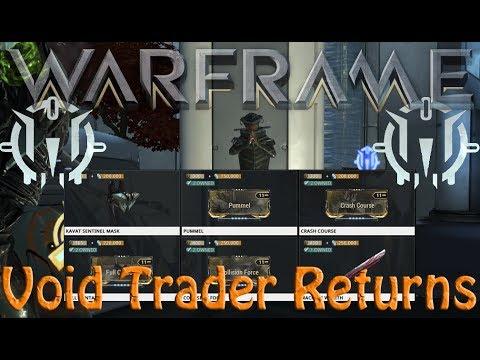 Warframe - Void Traders Returned! 78th rotation