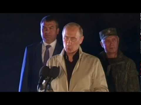 Russian President Oversees Military Drills in N. Caucasus : 2012 Strategic Command & Staff Exercises