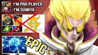 EPIC SumiYa Invoker God vs Pro Player xiao8 Non-Stop Gank Mid Crazy Combo Top Divine Game Dota 2