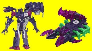 Transformers Mini Con Deployers, Decepticon Fracture, Airazor, Robots in Disguise Minicon Sandsting