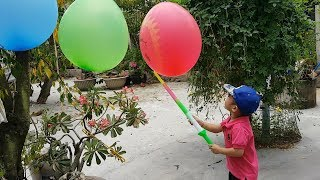 Trò Chơi Đập Quả Bóng Nhận Quà ❤ ChiChi ToysReview TV ❤ Đồ Chơi Trẻ Em Baby Doli