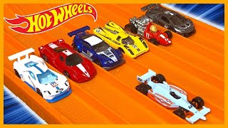 Indy 500 Oval vs 6 Race Cars (Wow it's FAST)