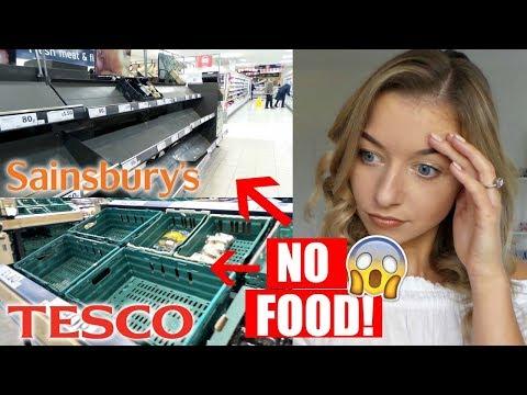 SNOW DAY DISASTER VLOG | NO FOOD!