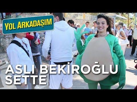 Yol Arkadaşım - Aslı Bekiroğlu Sette (Sinemalarda!)