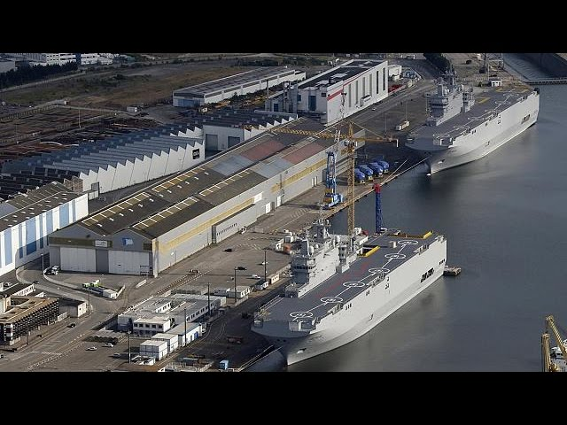 France and Russia 'reach Mistral compensation deal'