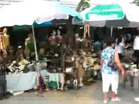 outside Chatuchack Weekend Market, Bangkok, Thailand