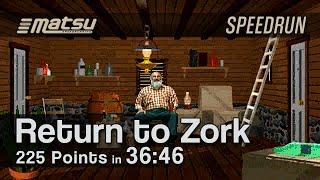 Speedrun: Return to Zork (225 Points) - 36:46