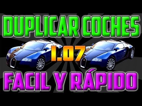 GTA V ONLINE 1.07    NUEVO TRUCO DUPLICAR COCHES GRATIS    DUPLICATE CAR FREE AFTER PATCH 1.07