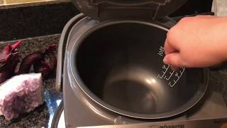 我是怎样用日本电饭煲的