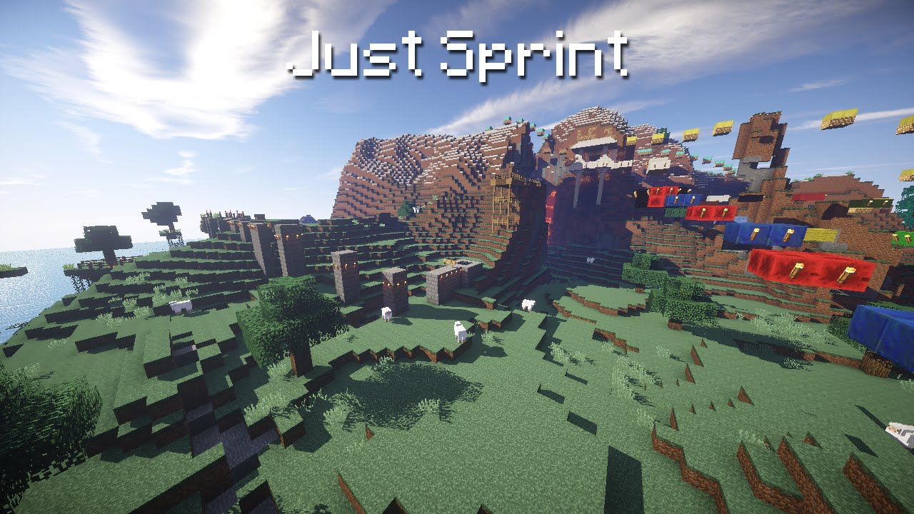 Just Sprint Minecraft