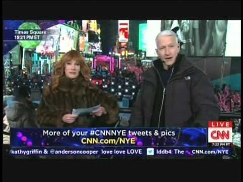 New Year's Eve Live 2015 Anderson Cooper Kathy Griffin Times Square New York
