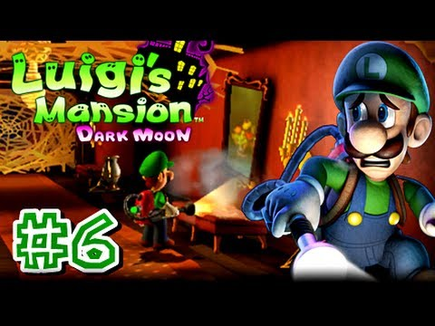 Luigi's Mansion Dark Moon - 3DS - (1080p) Part 6 - A-5 Sticky Situation