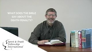 Video: The Christian Bible supports Capital Punishment/Death Penalty - John Schoenheit (BiblicalUnitarian)