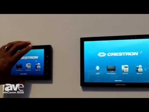 InfoComm 2015: Crestron Displays TSW Touch Panel Line