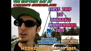 Literally The Emptiest Day - - Canada's Wonderland Supercut