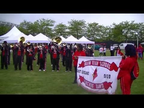 Shaw High School Marching Band at Cleveland Festival