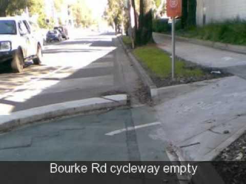 Sydney City Council's bike paths : expensive & empty