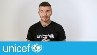 It's about time - David Beckham | UNICEF
