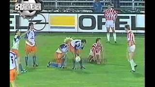 Montpellier Vs Psv Eindhoven Recopa Europa 1991 Valderrama Vs Romario Futbol Retro