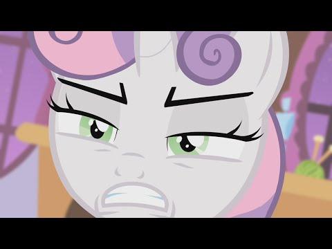 (Pony Grumps) Sweetie Belle is NOT Batmare!