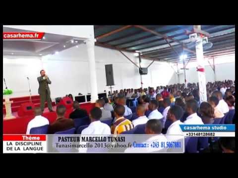 LA DISCIPLINE DE LA LANGUE AVEC PASTEUR MARCELLO TUNASI