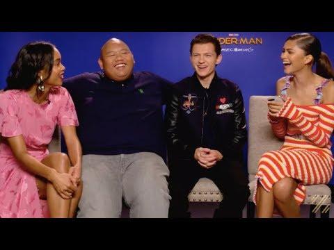 Watch Z Interview Her Spider-Man Co-Stars thumbnail