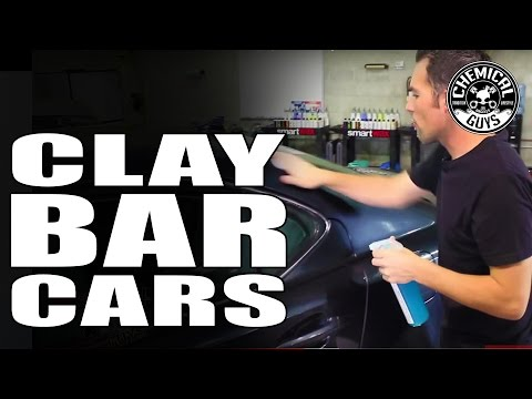 How To Clay Bar Your Car Like a Pro - Remove Overspray Chemical Guys EPIC DETAILING