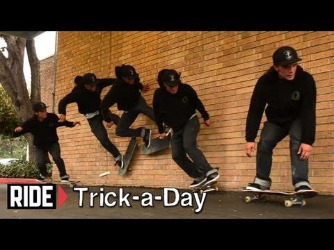 How-To Backside Wallride With Lee Yankou - Trick-a-Day