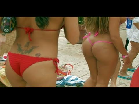 Sexy Bikini Beach Party! video