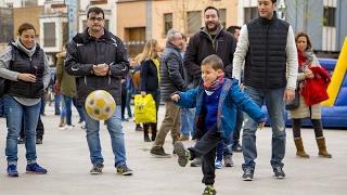 La afición ante el Málaga