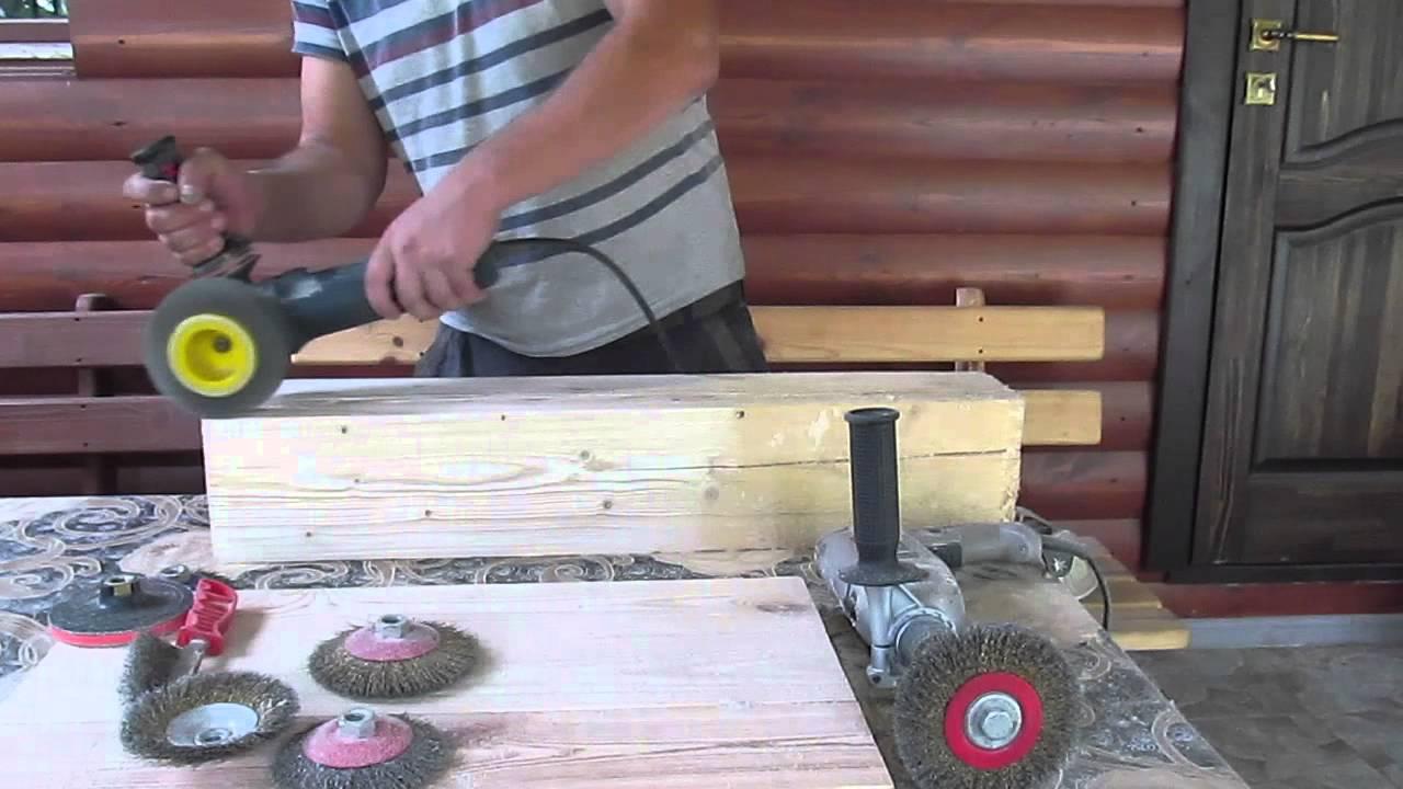 Инструмент для старения древесины своими руками 24