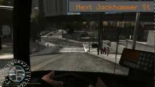 【GTA4 Bus Driver】The Bus ~NYCTA新米運転手乗務日誌~【#1】