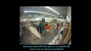 Building Kaholo Stand-Up Paddleboards in One Week