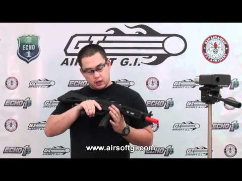 Airsoft GI - ICS MX5 Pro 3 Round Burst Full Metal MK5 AEG