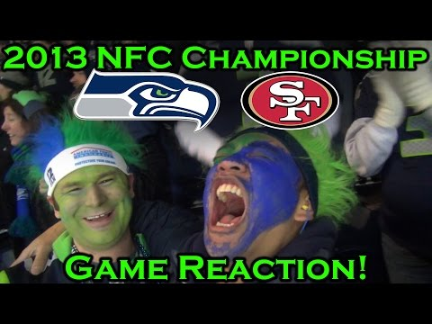 Reacting To 2013 Nfc Championship Seahawks Vs 49ers
