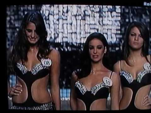 Giulia Luchi,Miss Toscana Cotonella,Top 8 at Miss Italia 2009,Hot Bikini Catwalks
