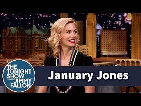January Jones Is a Throwback Thursday Pro
