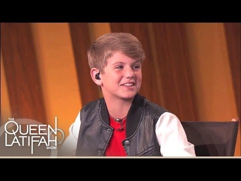 MattyB Reveals Inspiration  | The Queen Latifah Show