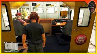 GTA 5 How to Get Inside The Train (GTA 5 Ride Train)