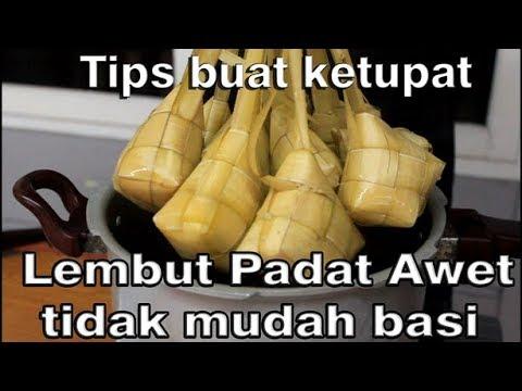 Tips buat ketupat yang lembut dan tidak mudah basi