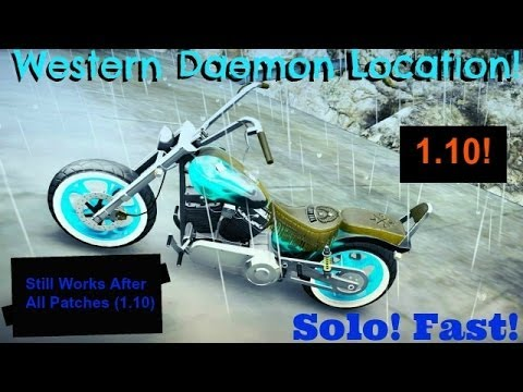 Gta Online: Western Daemon Location Harley Secret Motorcycle .