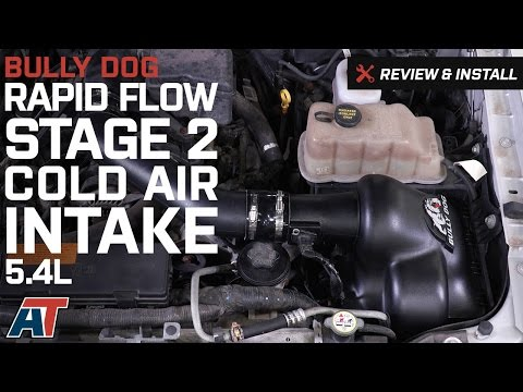 2009-2010 F150 Bully Dog Rapid Flow Stage 2 Cold Air Intake 5.4L Review & Install